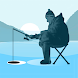 Ice fishing games for free. Fisherman simulator.