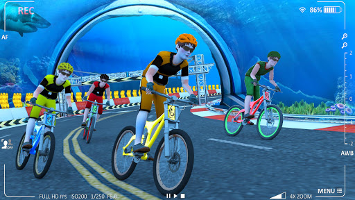 Underwater Stunt Bicycle Race Adventure screenshots 3