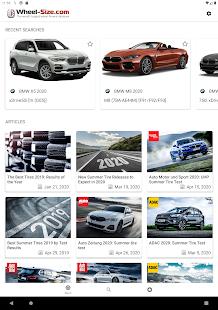 Wheel Size - Wheels database,Tire Size Calculator 2.8.6 Screenshots 9