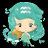 Aquarius Horoscope ♒ Free Daily Zodiac Sign icon
