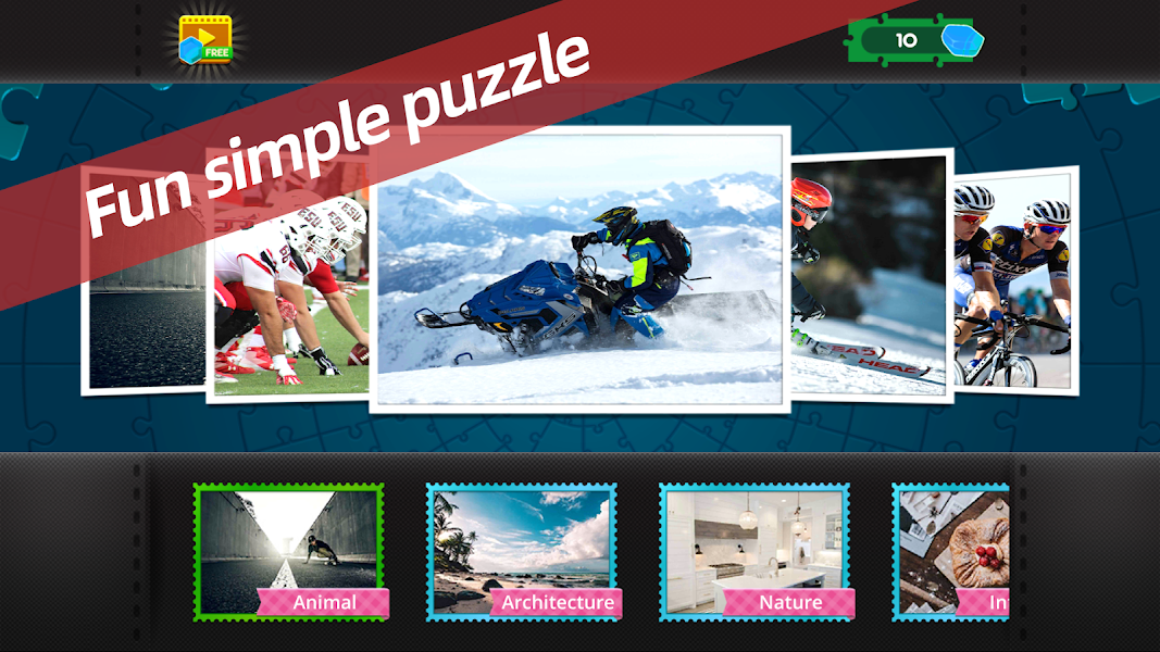 Jigsaw HD - Free Classic Puzzle Games