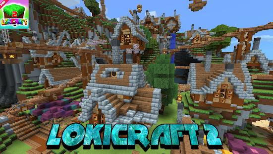 Lokicraft - Building And Crafting 2021 1.1 Screenshots 1