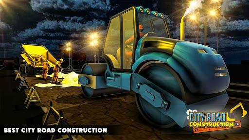 Mega City Road Construction Machine Operator Game 3.9 screenshots 9