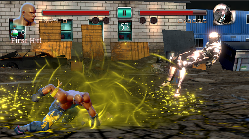 Ninja Games Fighting - Combat Kung Fu Karate Fight apkpoly screenshots 4