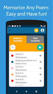 Memorize Anything Poems Speeches Mod Apk (Pro Unlocked) 1