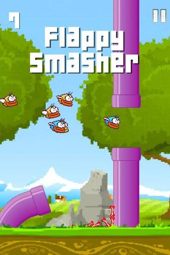 flgamey smasher - free bird game screenshot 1
