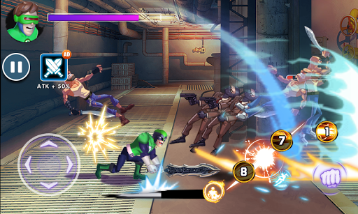 Superhero Captain X vs Kungfu Lee apkpoly screenshots 20