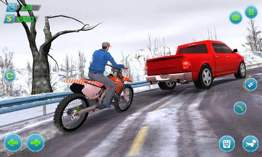 mega bike racing - moto stunt race 2019 screenshot 3