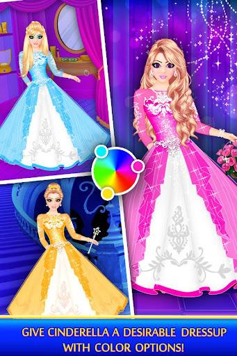 Cinderella Beauty Makeover : Princess Salon 1.8 screenshots 4