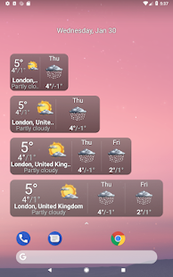Palmary Weather Screenshot