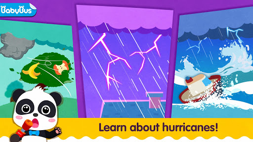 Little Panda's Weather: Hurricane screenshots 1