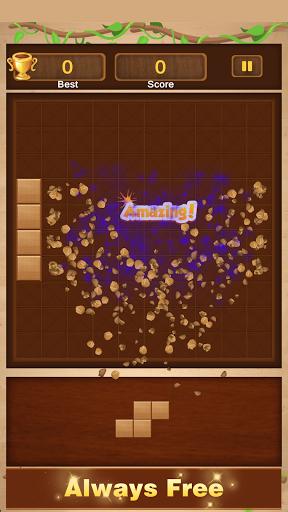 Wood Block Puzzle - Free Woody Block Puzzle Game  screenshots 6