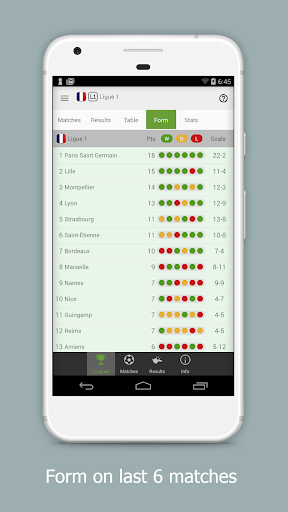 Football Data - Stats,Matches,Results,Live Scores 1.0.29 Screenshots 4