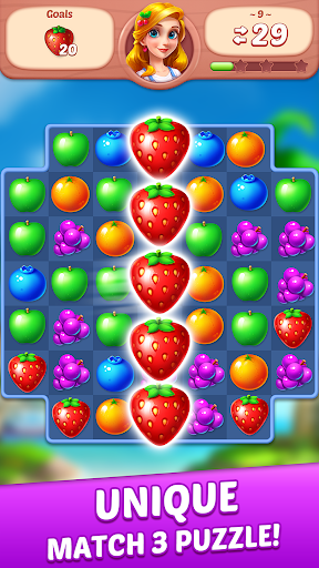 Fruit Diary - Match 3 Games Without Wifi Latest screenshots 1