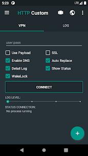 HTTP Custom SSH & VPN Client with Custom Header Apk 2