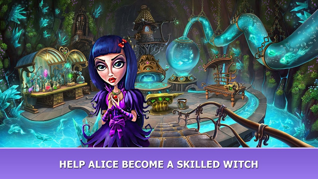 Hiddenverse: Witch's Tales - Hidden Object Puzzles