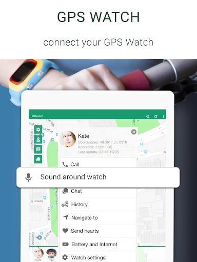 Family GPS tracker KidsControl  Screenshots 11