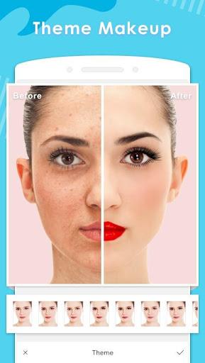 Makeup Camera-Selfie Beauty Filter Photo Editor 2.21 Screenshots 1