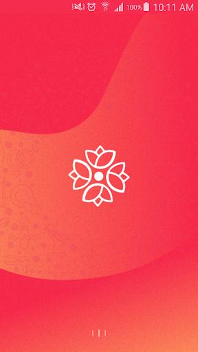 الحاسبة الورديه menstrual cycle period tracking 🌹 1.1.1 screenshots 1