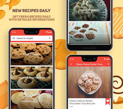 Cookies And Brownies Recipes  Screenshots 2