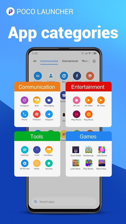POCO Launcher 2.0 - Customize, Fresh & Clean  poster 5