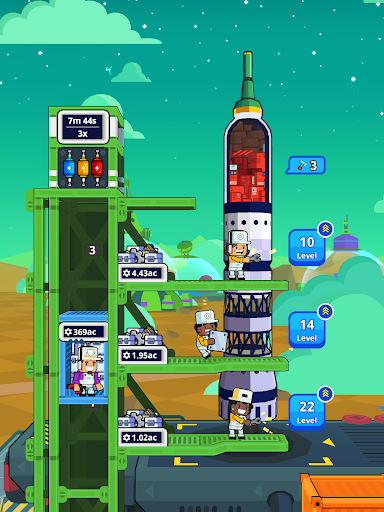 Rocket Star - Idle Space Factory Tycoon Game 1.45.0 screenshots 14