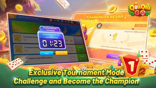 QiuQiu Go-Domino QiuQiu Online Tournament  screenshots 8