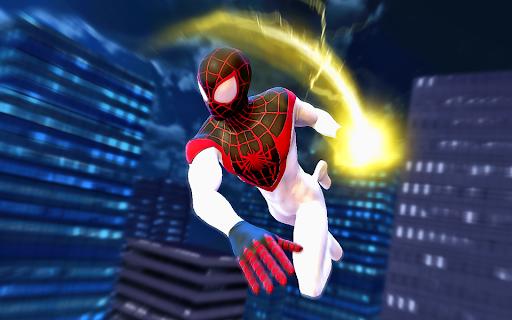Spider Hero Rope Fight Ninja Gangster Crime City 7.0 screenshots 3