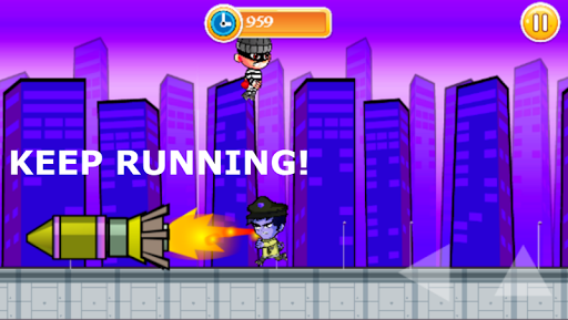Télécharger Gratuit Jeu de Robber Run-Police Chase apk mod screenshots 4