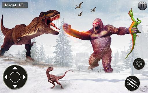 Angry Dinosaur Attack Dinosaur Rampage Games android2mod screenshots 5