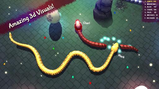 3D Snake . io filehippodl screenshot 4