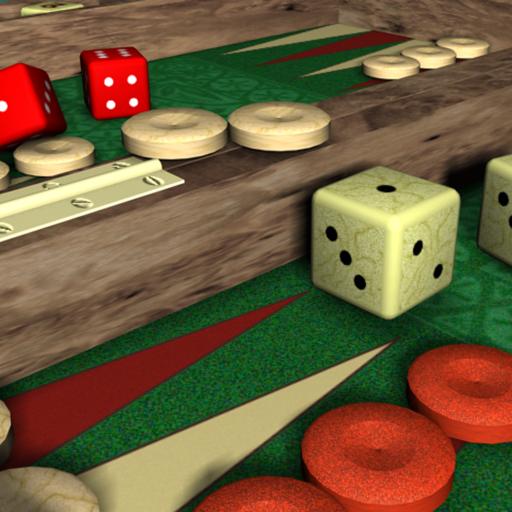 Backgammon V+, solo and multiplayer backgammon