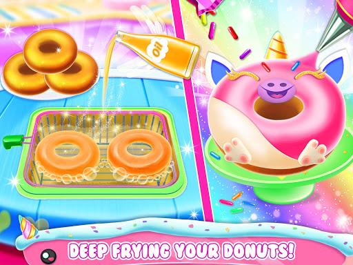 Unicorn Donut Maker: Dessert Cooking Mania  Screenshots 4