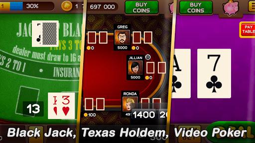 ud83cudfb0 Free Casino: Slots and Poker - win your jackpot  screenshots 21