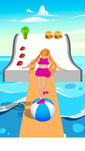 Body race hair challenge fat 2 fit girl game 3d 1 screenshots 1
