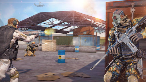 Real Commando Combat Shooter : Action Games Free android2mod screenshots 7