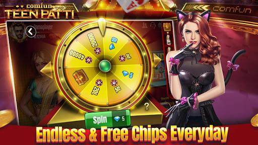 Teen Patti Comfun-Indian 3 Patti  Card Game Online 6.4.20210112 screenshots 4