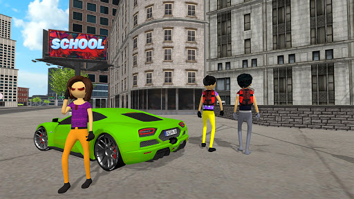 Virtual Stickman Family Life Adventure: Stick Game apkpoly screenshots 4