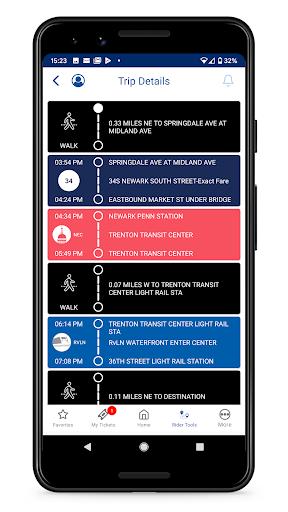 NJ TRANSIT Mobile App android2mod screenshots 6