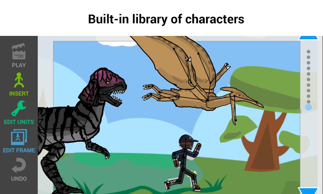 Captura 5 de Draw Cartoons 2: Skeletal Animation Studio para android
