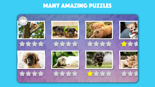 Dogs & Cats Puzzles for kids & toddlers 2 🐱🐩 apklade screenshots 2