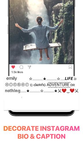 Cool Fonts for Instagram - Stylish Text Fancy Font 4.9 Screenshots 12