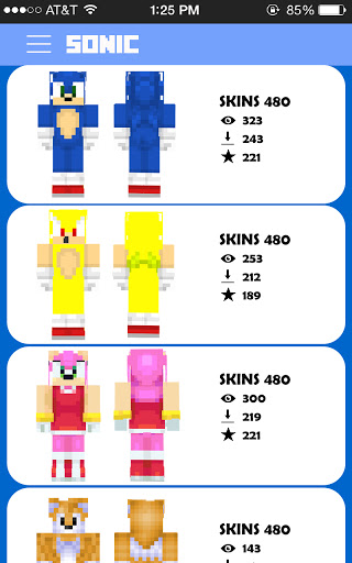 Sonic For Minecraft Free Skins Addon and New Map! 1.0 screenshots 2