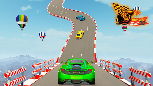 Mega Ramp Car Stunts 3D: Free Ramp Car Games 2021 screenshots 1