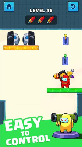 Rocket War: Impostor Fight screenshots 1