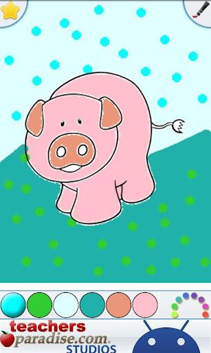 Farm Animals Coloring Book 9 screenshots 2