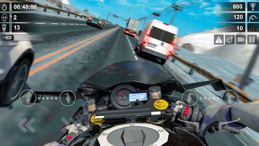 Traffic Racer: Dirt Bike Games apkdebit screenshots 5
