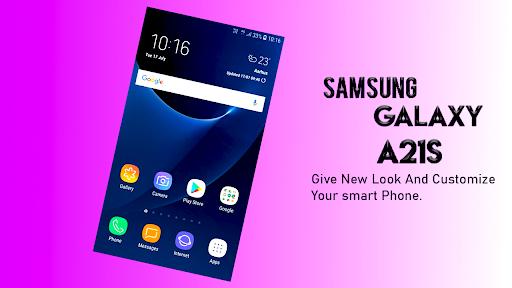 Samsung Galaxy A21s Launcher: Themes & Wallpapers screenshots 5