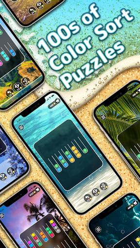 Ballscapes: Ball Sort Puzzle & Color Sorting Games  screenshots 5
