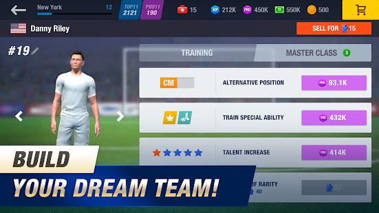 11x11: Soccer Club Manager screenshots 12